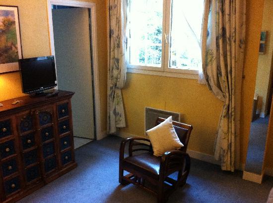 Hotel Le Vert Galant : Chambre