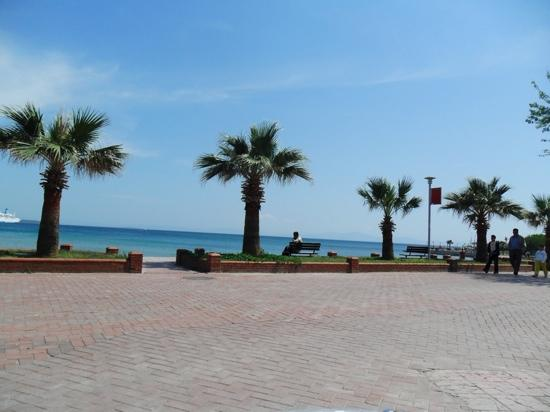 Aegean Park: view from one the bars & rest in altinkum