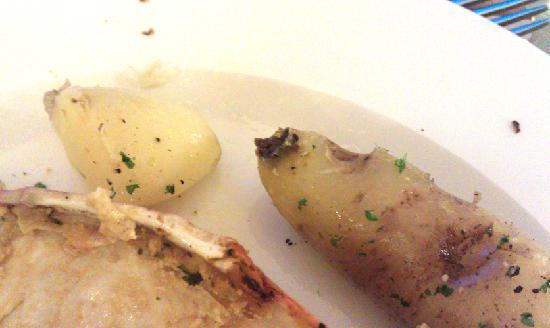 The Cliff House Hotel: Rotten potato