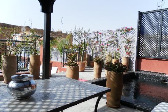 Riad Alegria: Dachterasse