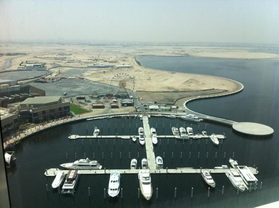 InterContinental Dubai Festival City: view from 2 bedroom suite 26th floor