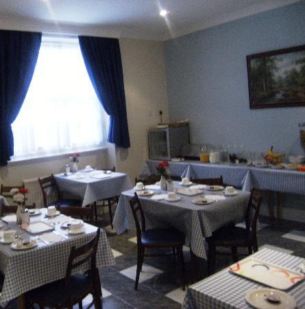 Melbourne House Hotel: Sala Colazione