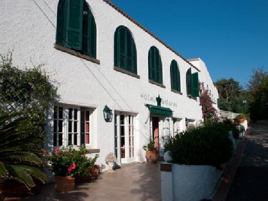 Hotel Antares: der Eingangsbereich