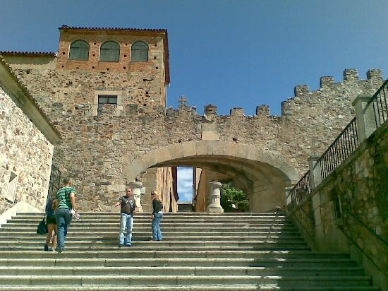 Cáceres, Espagne : Arco de La Estrella-Caceres