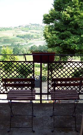 Casa di Maio: balcony view