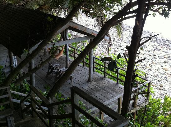 Jungle Bay, Dominica : strandhaus