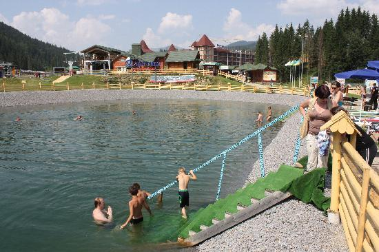 Поляница, Украина: Bukovel swimming pool
