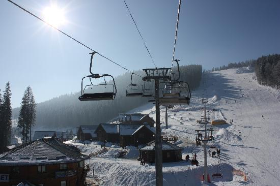 Поляница, Украина: Bukovel resort area