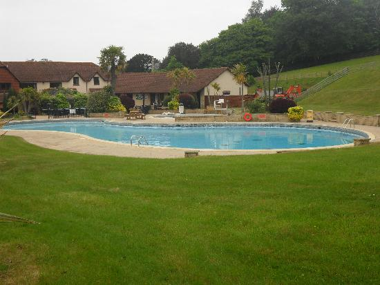 Cofton Holidays: View of the pool