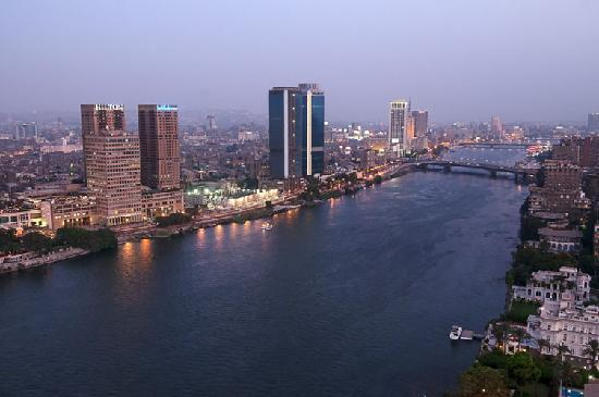 Hilton Cairo Zamalek Residences: View of the Nile from the building