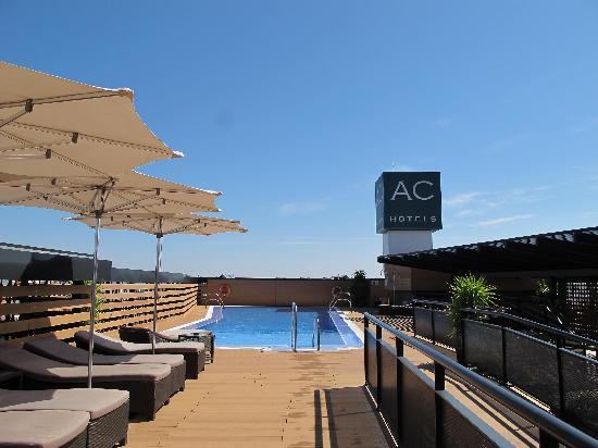 Eurostars Palace: roof top pool