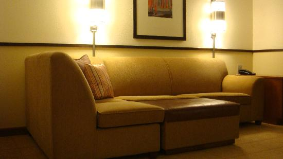 Hyatt Place Fremont/Silicon Valley: Sofa bed