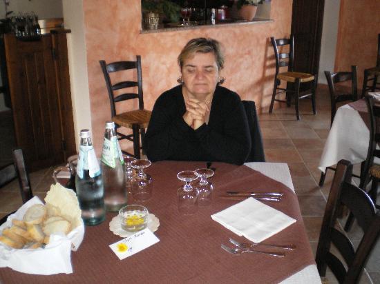 La Corte Rosada : Il ristorante