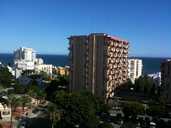Minerva Jupiter Apartments: view from balcony