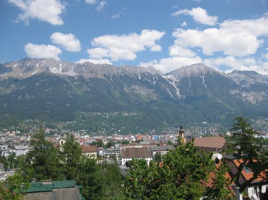 Innsbruck, Autriche : Panorama