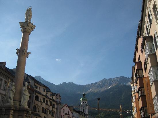 Innsbruck, Autriche : Annasäule