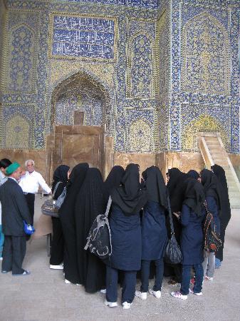 Isfahán, Irán: La moschea dell' Imam