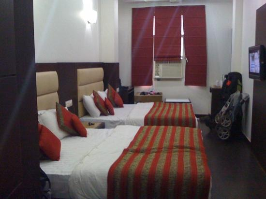 Hotel Chanchal Continental: delux family room