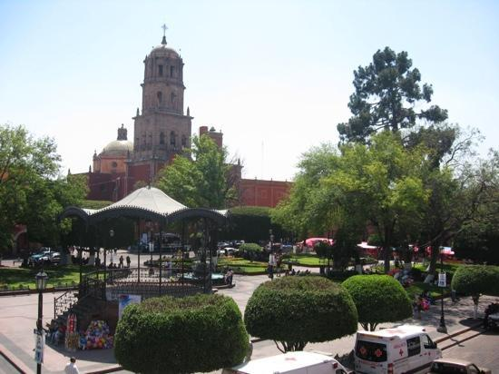 Hotel Plaza: vista desde el balcon