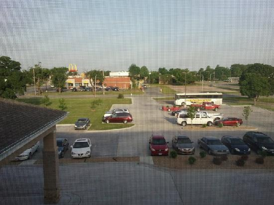 Sleep Inn & Suites: View from third floor window