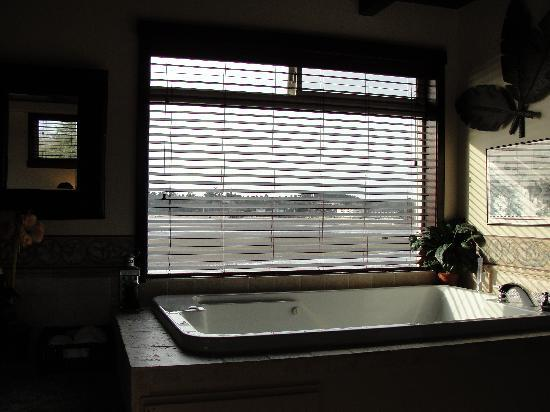 Baywood Shores Bed & Breakfast: Awesome two person jacuzzi tub