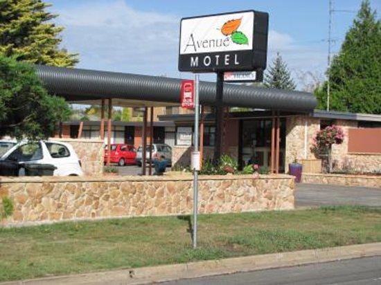 Avenue Motel: Front View