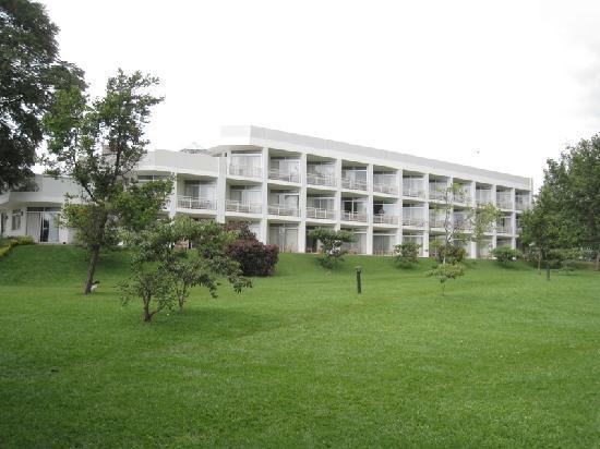 Lake Kivu Serena Hotel: Hotel accommodation block
