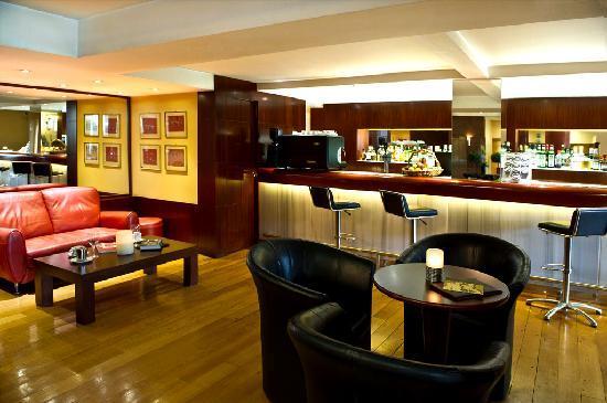 Congo Palace Hotel: cafe