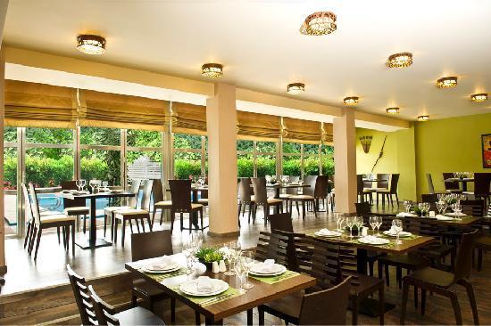 Congo Palace Hotel: Boyoma Falls restaurant