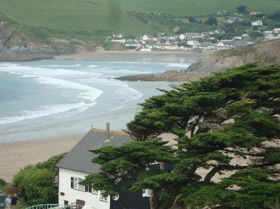 Burgh Island Hotel : View from the balcony