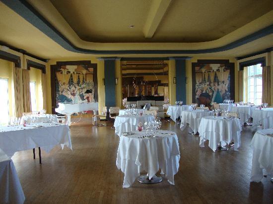 Burgh Island Hotel : Ballroom & Dining Room