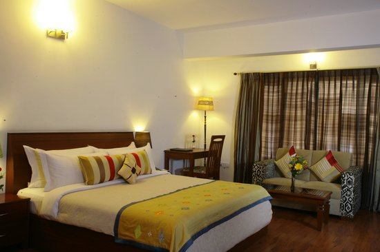 juSTa Off MG Road, Bangalore: Deluxe Room - Spacious and Luxurious