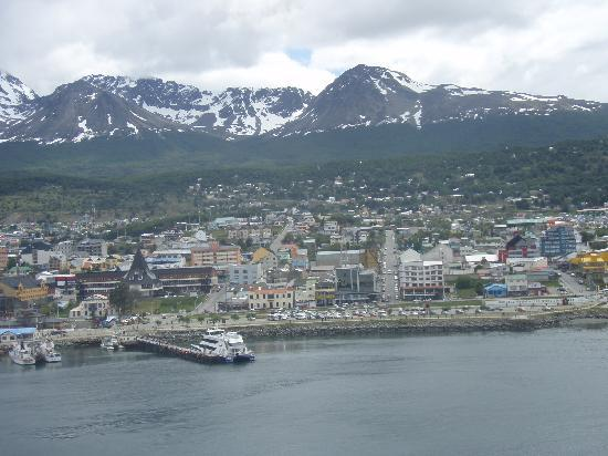 Ushuaia, Argentyna: on the way to Antartida