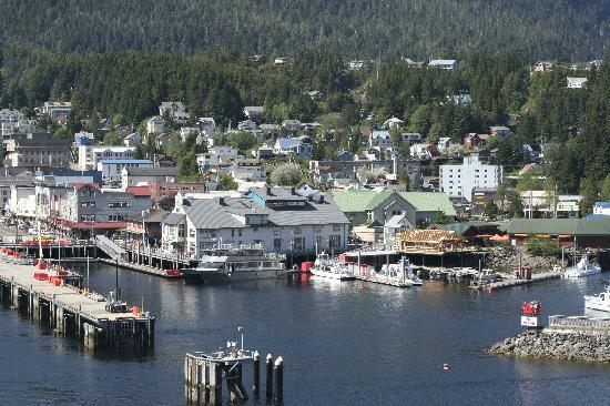 Ketchikan, AK : Beautiful place, has a charm little creek with history