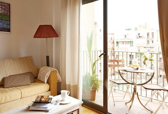 AinB Eixample Entenza: Living room