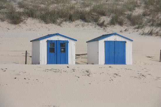 Strandhotel Noordzee: mooie strandcabines