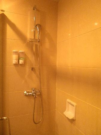 Victoria Hotel: 2nd room toilet with shower only, no bathtub
