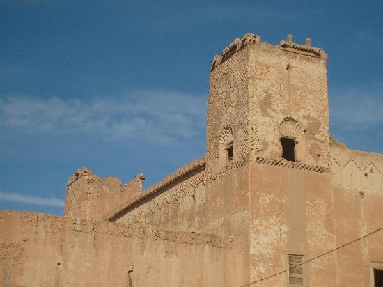 Taliouine, Maroko: Les tours de la kasbah