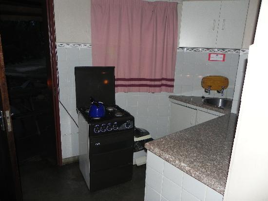 Ndlovu Camp: Small kitchen