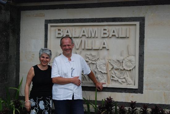 Balam Bali Villa: Hurbert der Chef