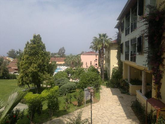 Kosdere Club Hotel: View from reception