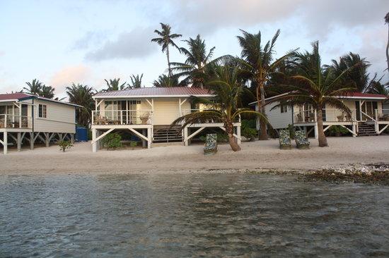 Turneffe Flats: cabanas