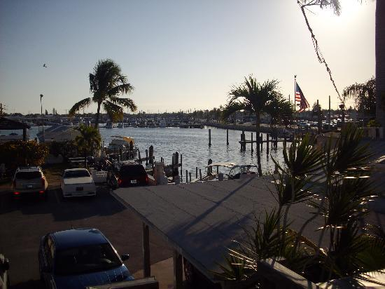 Harborside Motel & Marina : View from deck of suite