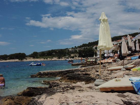 Violeta Hvar: beach on hvar