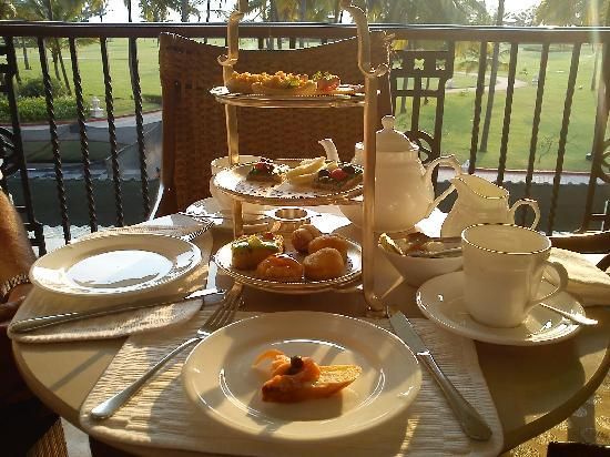 Taj Exotica Resort & Spa Goa: Afternoon tea
