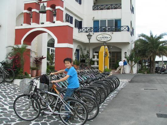 Hotel Bayview: free use of bicycles for hotel guests