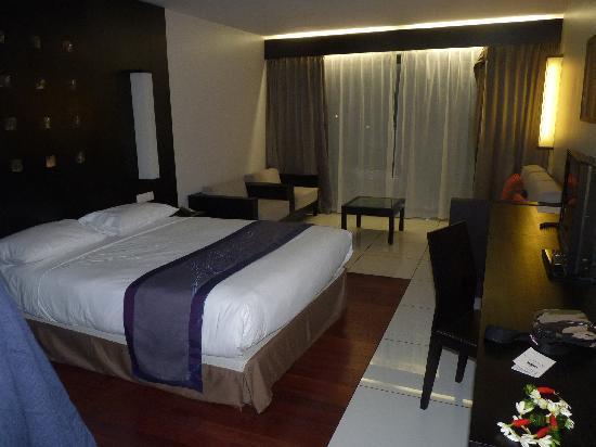 Hotel Tahiti Nui : la chambre