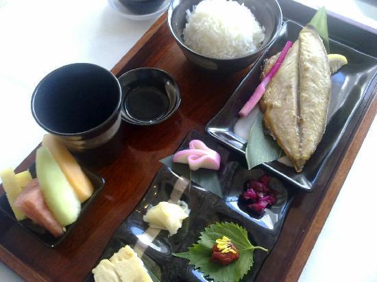Mandarin Oriental, Hong Kong: Delightful Japanese breakfast.