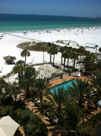 Hyatt Siesta Key Beach Resort, A Hyatt Residence Club: view from room