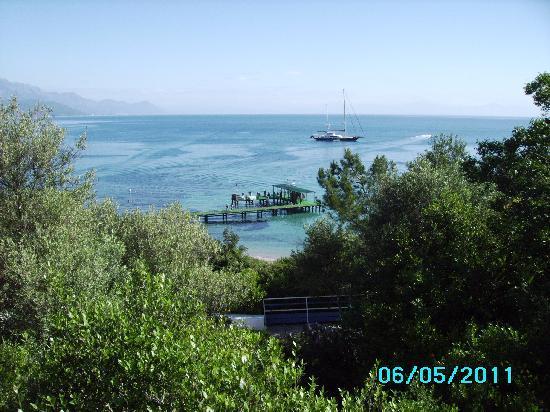 Club Med Kemer: La vue sur la baie de Kemer